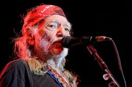 Willie Nelson at his Country Throwdown in Sparta, Illinois. - TODD OWYOUNG