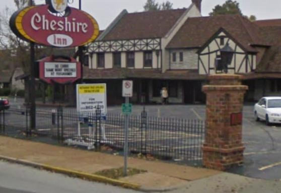 The Cheshire Inn lies just within the St. Louis city limits.