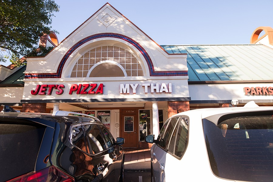 My Thai is located in the Central West End. - MABEL SUEN