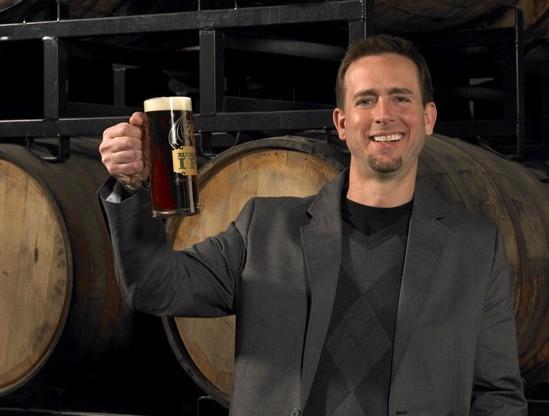 Stone Brewing Co. cofounder Greg Koch, arrogant bastard. (Lighten up - it's a Stone beer.) - STUDIOSCHULZ.COM