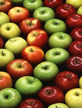 Apple orgy! Apple orgy!