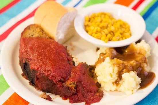 Meatloaf special.