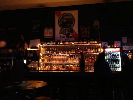 The bar at the Heavy Anchor. - CAILLIN MURRAY