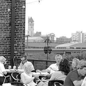 On Vin de Set's roof - JENNIFER SILVERBERG