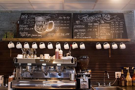 Behold: the espresso bar.