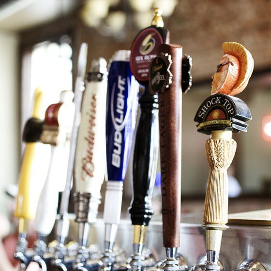 Choose your craft beer to go with your breakfast at Kegs and Eggs. | Jennifer Silverberg