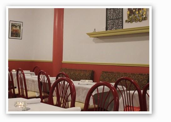 The dining room at Baida. | Nancy Stiles