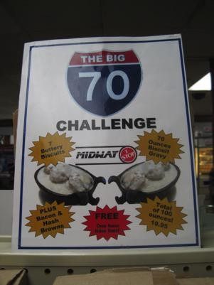 The Big 70 Challenge. - ROBIN WHEELER