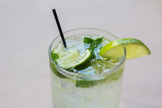 """Cucumber Cooler"" cocktail."