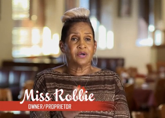 Robbie Montgomery on an upcoming episode of Welcome to Sweetie Pie's. | OWN