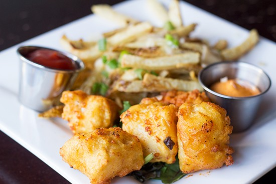 Fish and fries.