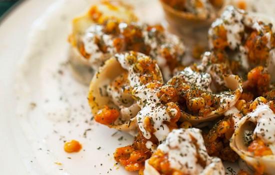 The muntoo at Sameem Afghan Restaurant | Jennifer Silverberg