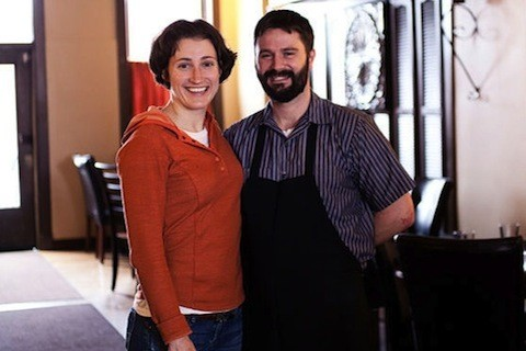 Jenny Cleveland and Eric Heath, owners of Cleveland-Heath | Jennifer Silverberg