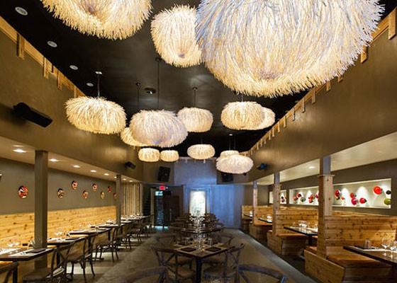 Inside Hiro Asian Kitchen downtown.   Jennifer Silverberg