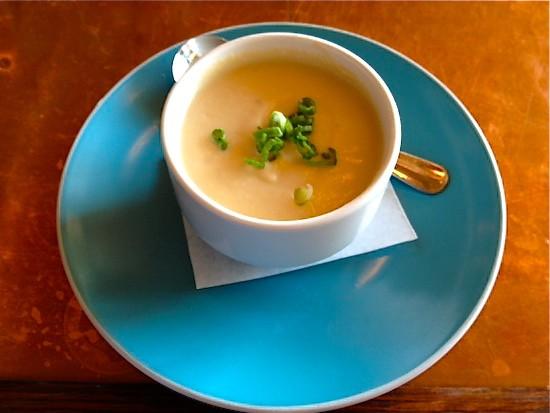 The cauliflower soup at Cleveland-Heath   Ian Froeb
