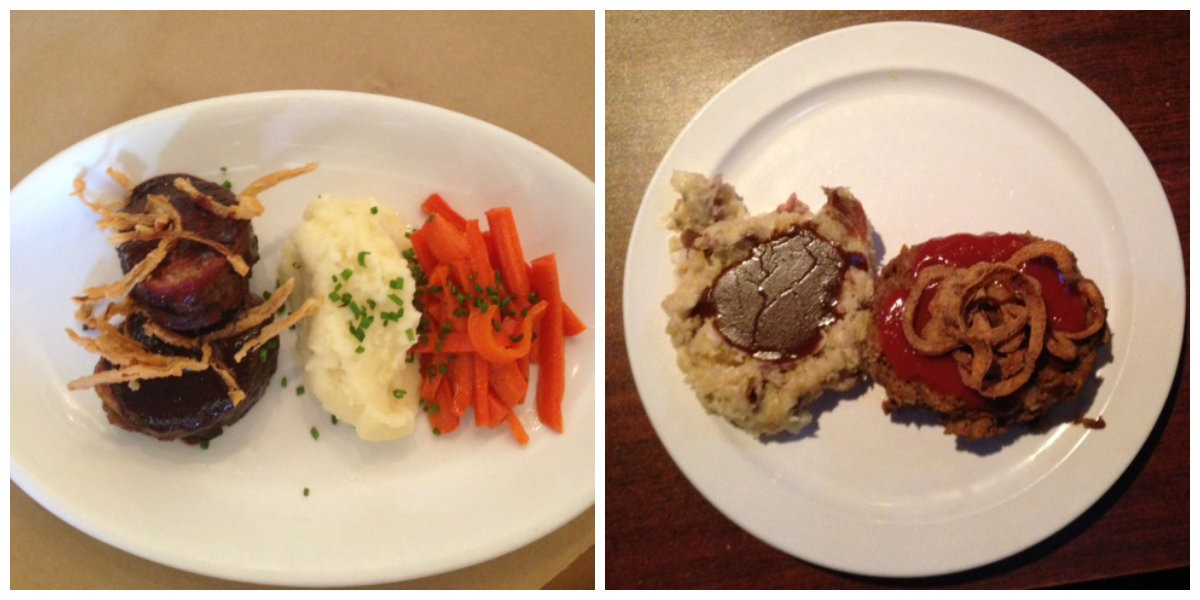 Who will win the meatloaf battle? Farmhaus or Quincy Street Bistro?   Cheryl Baehr