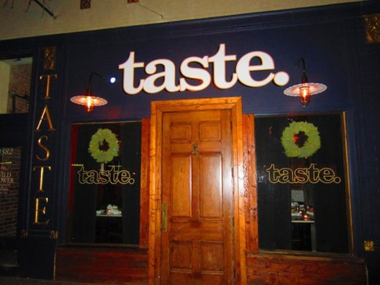 Taste on Laclede Avenue. | RFT Photo