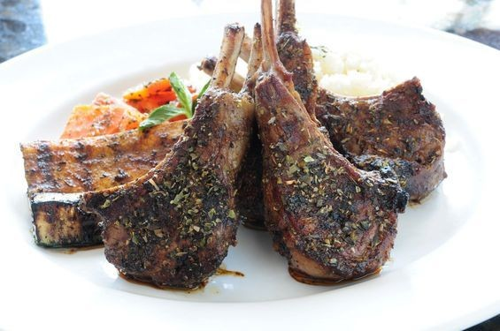 LAMB CHOPS AT AYA SOFIA | RFT PHOTO