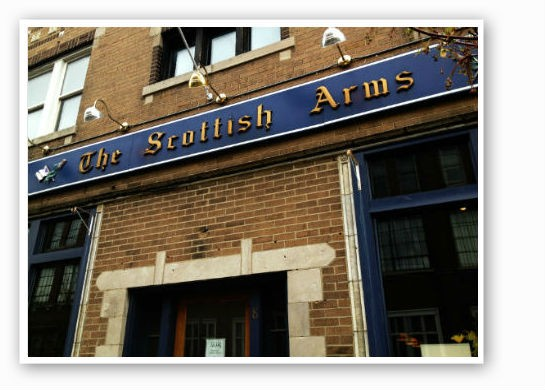Welcome to The Scottish Arms. | Caillin Murray