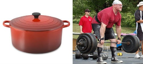 Lift that Le Creuset! - WILLIAMS-SONOMA, WIKIMEDIA COMMONS