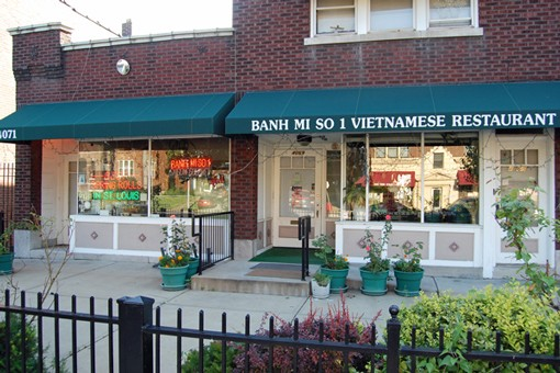 Banh Mi So #1,  located on South Grand, south of Chippewa. Take the All-Star tour here.