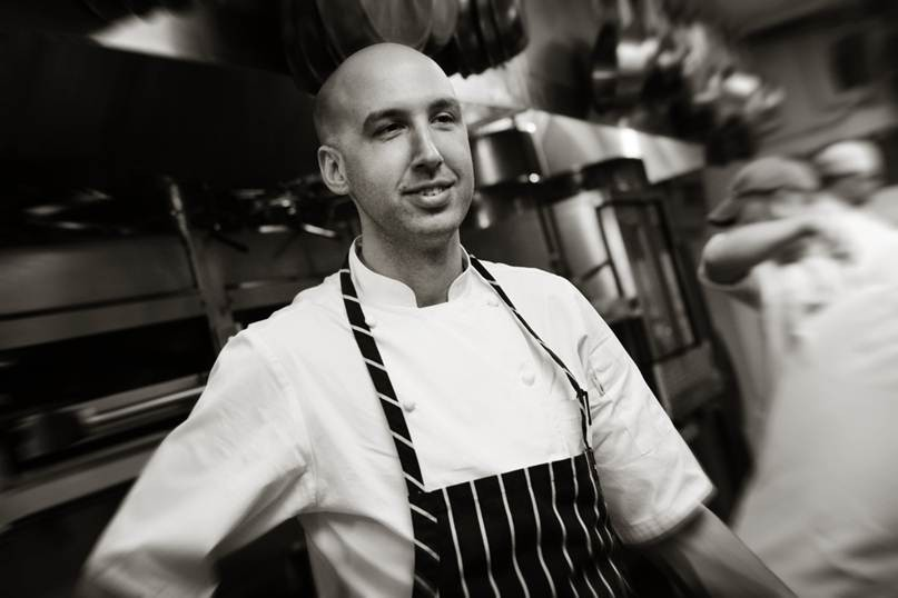 John Griffiths, departing executive chef of Truffles - COURTESY BLACK TWIG COMMUNICATIONS