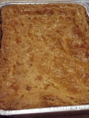 Gooey butter cake (after) - ROBIN WHEELER