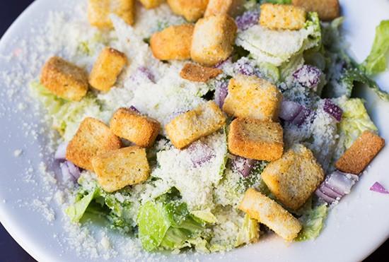 Caesar side salad.