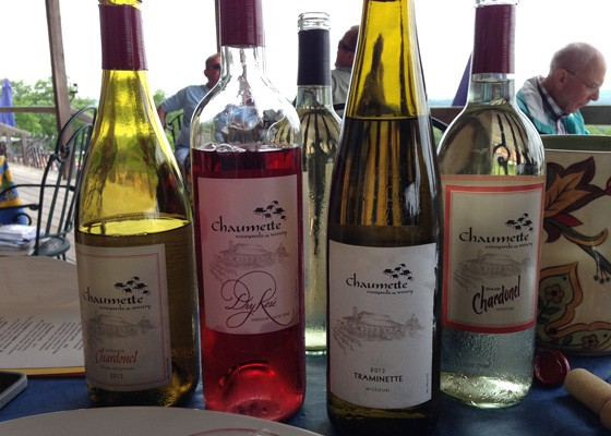 Chaumette is one of the stops on this weekend's Route du Vin Souper Wine Weekend in Ste. Genenvieve. | Nancy Stiles