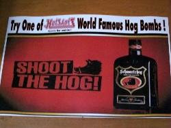 You won't find bacon in HotShots' Hob Bombs. - MARY MANGAN