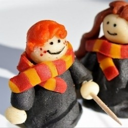 Ron Weasly, sculpted with love and almond paste. - FOODGAWKER