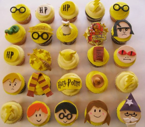 Here comes the Hogwarts sun. - CUPCAKEJUNKIE