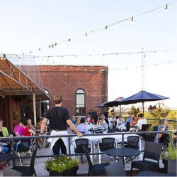 Vin de Set's rooftop bar - LAURA ANN MILLER