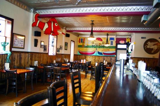 The big fish of Anthonino's Taverna. - KATIE MOULTON