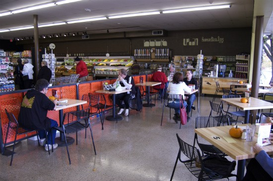 The spacious dining area at the Kirkwood location seats 40. - LIZ MILLER