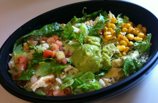 "The ""Cantina Bowl Chicken"" Taco Bell sold to Gut Check. - LIZ MILLER"