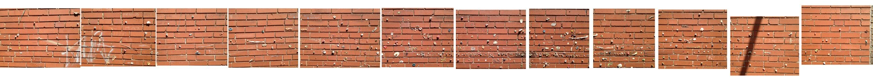 The Webster Groves Gum Wall. [Click pic to see in vivid-er glory.] - TOM FINKEL