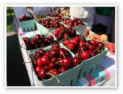 Tart pie cherries. | Pat Kohm