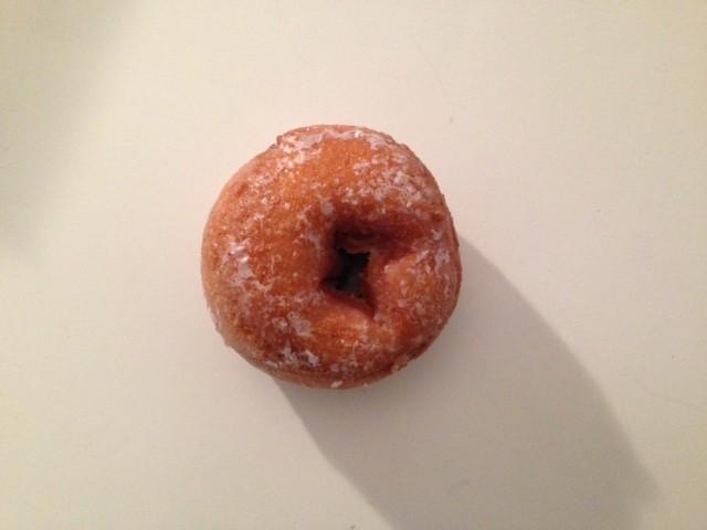 O'Fashion Donuts' buttermilk-cake doughnut.   Cheryl Baehr