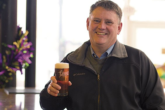 Senior brewer Joel Boisselle, who oversees the St. Louis brewery, says Faust is about as close as you can get to Adolphus Busch's original recipe. | Tom Carlson