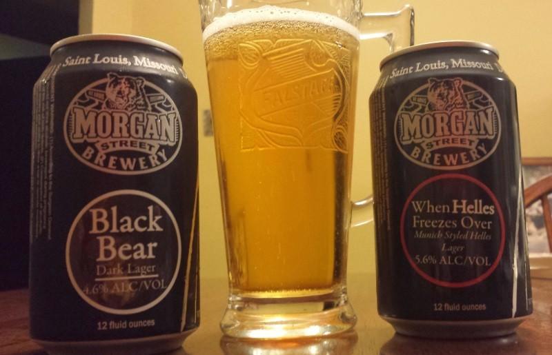 Morgan Street Black Bear & When Helles Freezes Over - RICHARD HAEGELE