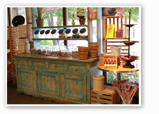 Candies and cones at Sweetie's. | Zoe Kline