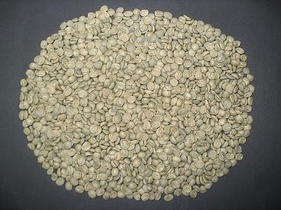 Green (unroasted) coffee beans - FERNANDO REBELO, WIKIMEDIA COMMONS