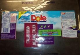 Dole Italian Blend salad recalled for possible contamination. - FDA.GOV