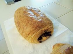 La Bonne Bouchée's pain au chocolat. - EMILY WASSERMAN
