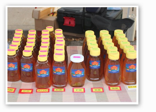 Robin's Honey Company displays its array of different varieties. | Cheryl Baehr