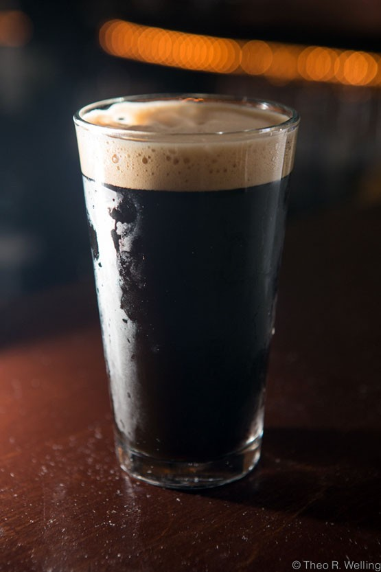 Summit Oatmeal Stout from Summit Brewing in St. Paul, Minnesota. - THEO WELLING