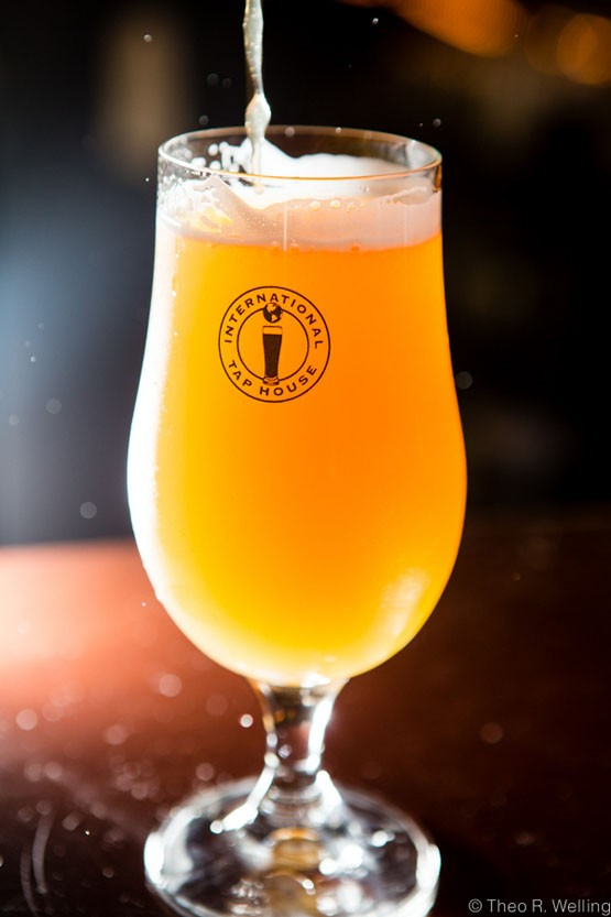 Perennial Aria with Peaches from Perennial Ales in St. Louis. - THEO WELLING