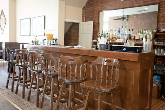 A view of the bar area at Laredo on Lafayette Square - CRYSTAL ROLFE