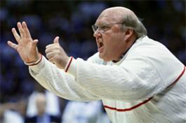 Coach Rick Majerus. - JENNIFER SILVERBERG